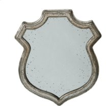 Wide Empire Crest Mirror Med