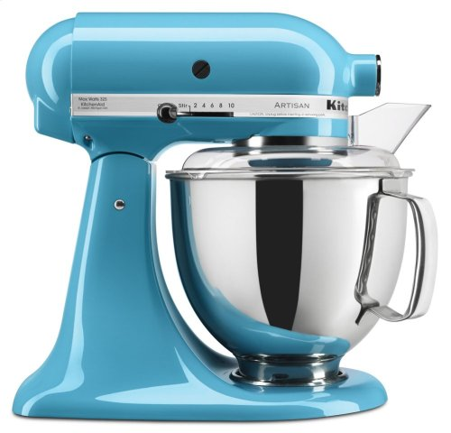 Artisan® Series 5 Quart Tilt-Head Stand Mixer - Crystal Blue