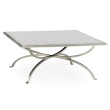 glomise and Silver Square Coffee Table