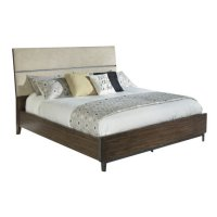 Monterey Point Queen Upholstered Planked Panel Bed Product Image