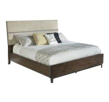 Monterey Point Queen Upholstered Planked Panel Bed