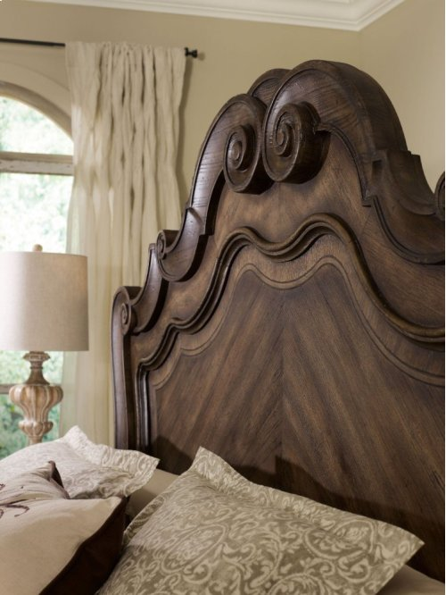 Rhapsody California King Panel Bed