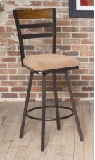 "D234-21  30"" Swivel Bar Stool Product Image"