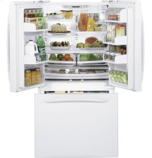 GE Profile ENERGY STAR® Counter-Depth 20.7 Cu. Ft. French-Door Refrigerator with Icemaker