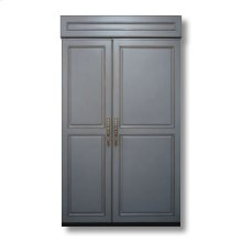 """48"""" Custom Panel Side-by-Side with Internal Ice Maker"""