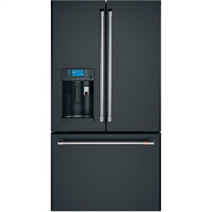 GEENERGY STAR ® 22.2 Cu. Ft. Counter-Depth French-Door Refrigerator with Keurig ® K-Cup ® Brewing System