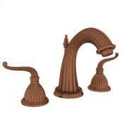 Antique-Copper Widespread Lavatory Faucet