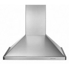 "Wall-Mount 600 CFM Exhaust Rating 36"" Width Canopy"