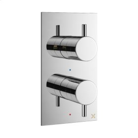 MPRO 1000 Thermo Valve Trim (1 Outlet) - Polished Nickel