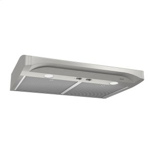 BroanAlta 30-inch 250 CFM Stainless Steel Range Hood with light
