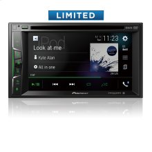 """Multimedia DVD Receiver with 6.2"""" WVGA Display, Apple CarPlay """", Built-in Bluetooth ® , SiriusXM-Ready """", iDataLink ® Maestro """", and Remote Control Included"""