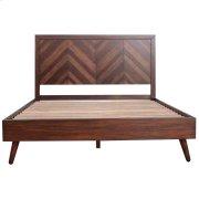 Piero Chevron Queen Bed Set, Java Product Image