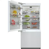 KF 2911 Vi - MasterCool(TM) fridge-freezer with high-quality features and maximum storage space for exacting demands.