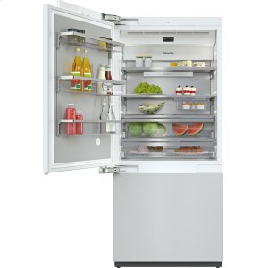 MieleKF 2911 Vi - MasterCool™ fridge-freezer with high-quality features and maximum storage space for exacting demands.