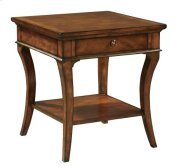 European Legacy Square End Table Product Image