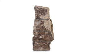 Sliced Stone Sculpture Limestone, Assorted