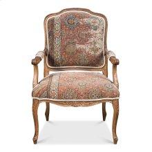 Pull Up Arm Chair,Drftwd,Turkish Carpet