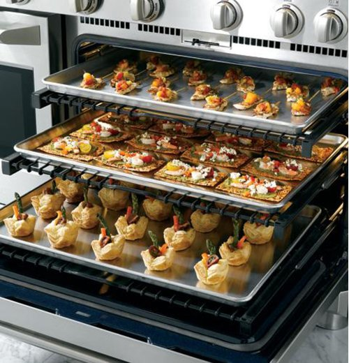 """GE Monogram® 48"""" Dual-Fuel Professional Range with 6 Burners and Grill (Natural Gas)"""