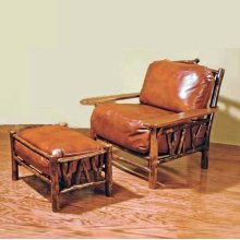 67 Slingshot Club Chair and 68 Slingshot Ottoman