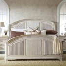 Aberdeen - Full/queen Reeded Headboard - Weathered Worn White Finish Product Image