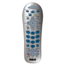 4 device silver universal remote