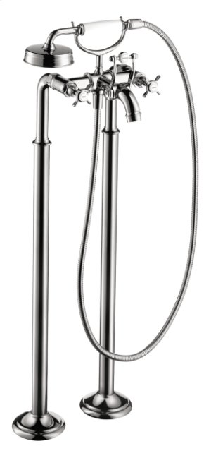 Chrome Montreux Freestanding 2-Handle Tub Filler Trim with Cross Handles Product Image