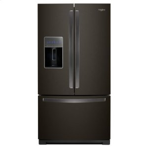 WHIRLPOOLWhirlpool(R) 36-inch Wide French Door Refrigerator - 27 cu. ft. - Black Stainless