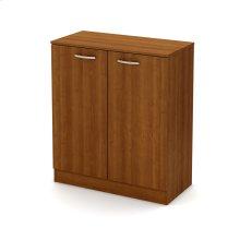 2-Door Storage Cabinet - Morgan Cherry