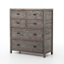 Rustic Black Olive Finish Caminito 6-drawer Dresser