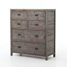 Rustic Black Olive Finish Caminito 6-drawer Dresser