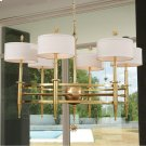 Classic Star Arm Chandelier-Brass Product Image