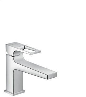 Chrome Metropol 100 Single-Hole Faucet with Loop Handle without Pop-Up, 1.2 GPM