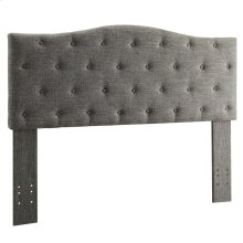 "Grace 54/60"" Headboard in Grey"