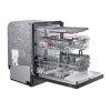 Samsung Linear Wash 39 Dba Dishwasher In Black Stainless Steel