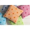 "Miranda MRA-008 18"" x 18"" Pillow Shell Only"