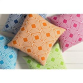 "Miranda MRA-006 22"" x 22"" Pillow Shell with Polyester Insert"