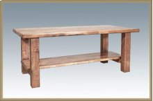 Homestead Coffee Table - Stained and Lacquered