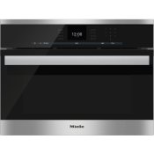 DGC 6600-1 - Steam oven with full-fledged oven function and XL cavity combines two cooking techniques - steam and convection.