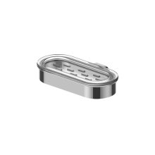Phase/Terra Oval Soap Dish and Holder