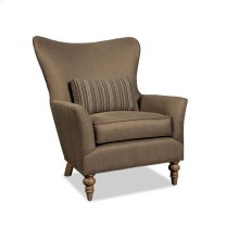 Curved Back Wing Chair