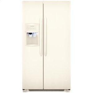 23 Cu. Ft. Side-by-Side Refrigerator - BISQUE
