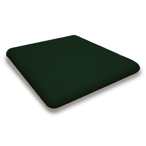 "Forest Green Seat Cushion - 16.5""D x 17.5""W x 2.5""H"