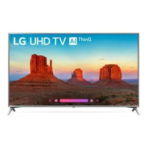 "LG AppliancesUK6570AUB 4K HDR Smart LED UHD TV w/ AI ThinQ(R) - 70"" Class (69.5"" Diag)"