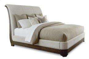St. Germain California King Upholstery Platform Sleigh Bed