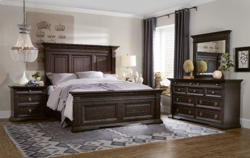 Treviso California King Panel Bed