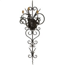 "14""W Kenna 3 LT Wall Sconce Hardware"