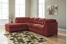 Maier RAF Sectional Sofa w/LAF Chaise - Sienna Collection