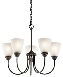 Jolie 5 Light Chandelier Olde Bronze®