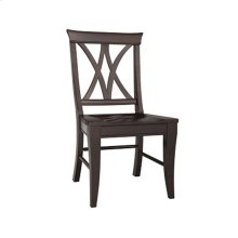 Choices V-Back Side Chair/Java