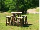 Country Pub Table & Bar Stools Product Image